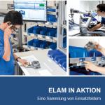 Screenshot der ELAM in Aktion Broschüre