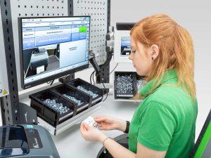 Verknüpfung eines ergonomischen Arbeitsplatzes mit dem ELAM-System