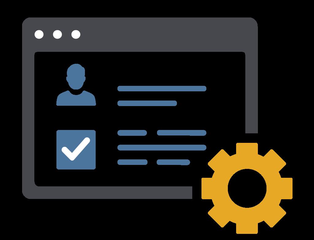 Verwaltungsmodul der ELAM-Software