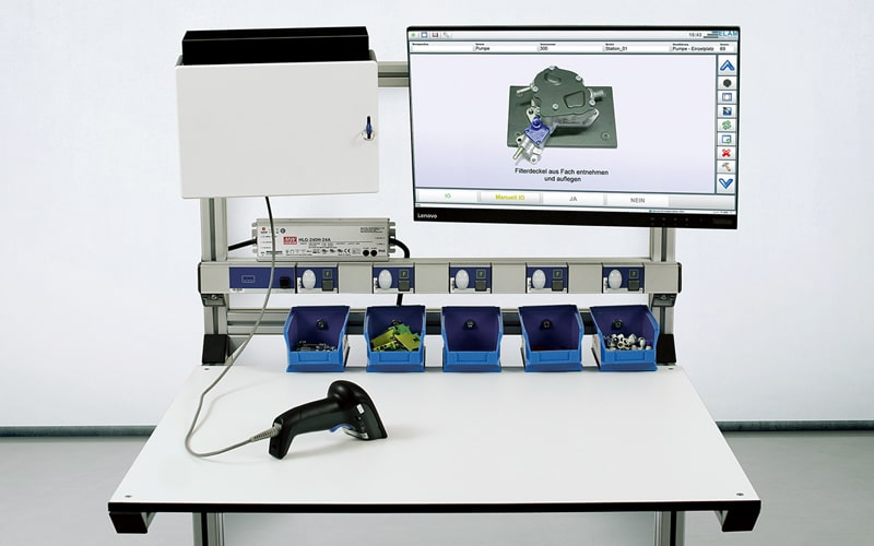 Werkerassistenzsystem mit dem ELAM START Einsteigerpaket