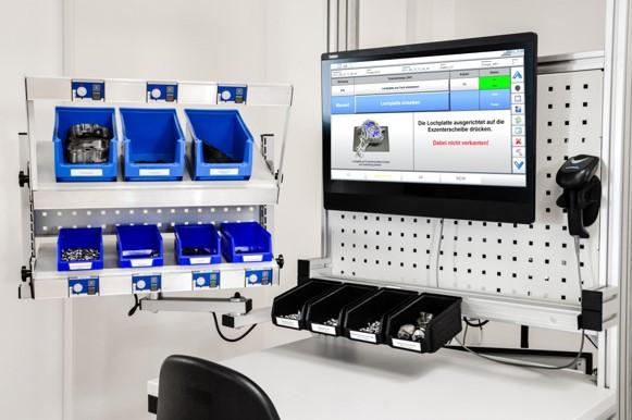 Einzelarbeitsplatz mit der ELAM-Software