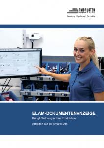Screenshot der Broschüre ELAM DOKUMENTENANZEIGE