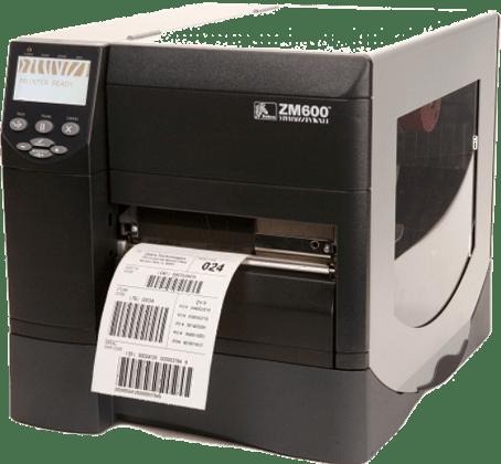 Labeldrucker der Firma Zebra