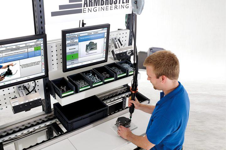 Arbeitsplatzsystem Armbruster Engineering und bott