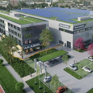 Bild 3: Gigafactory der AKASOL AG